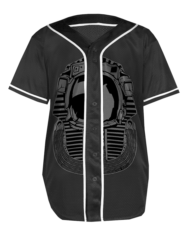 GH baseball jersey space pharaoh